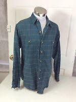 BANANA REPUBLIC Flannel Plaid Shirt Men's Medium