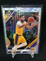 ANTHONY DAVIS 2019-20 OPTIC FANATIC PRIZM SILVER WAVE REFRACTOR #90 LAKERS H21