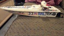Vintage Baltek RC Boat
