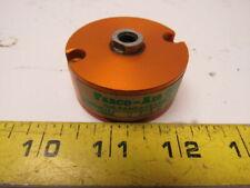"FABCO-AIR C-121-O Single Acting Pneumatic Pancake Cylinder 1-1/8""Bore 1/4""Stroke"