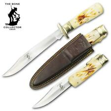 """The Bone Collector GIANT 12.5"""" Folding KNIFE W/ Sheath - NEW Fast Shipping!"""