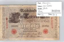 BILLET ALLEMAGNE - 1000 MARKS - 1903 - RARE!!!!