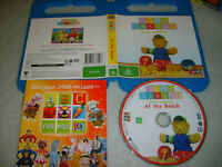 PLAY SCHOOL: (COME AND PLAY) AT THE BEACH - 2008 Australian ABC 4 Kids DVD Issue