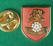 Yorkshire Regiment on Shield Lapel Pin badge in Pouch Gift Idea