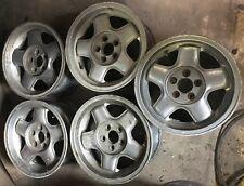 "Alfa Romeo 75. Original set of 5 14"" x 6"" Alloys"