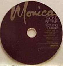 Monica: Gone Be Fine PROMO MUSIC AUDIO CD Radio Mix Instrumental 3trk ARPCD-3742
