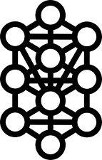 Tree of Life vinyl decal Kabbalah Sticker Mysticism Gnostic