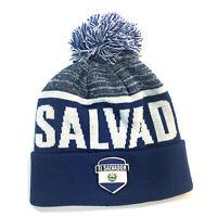 el salvador beanie hat pom soccer national team gorro winter headware mens youth