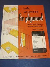 United States Plywood Weldwood Asbestos Construction Instructions U S Catalog