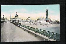 L@@K  North Promenade Blackpool 1900's? Postcard