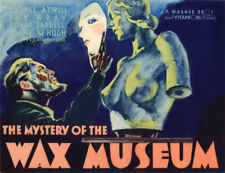 The Mystery of the Wax Museum - 1933 Lionell Atwill Fay Wray Pre-Code Horror DVD