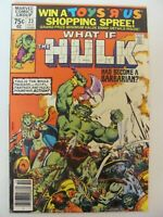 What if #23 Marvel Comics 1977 Series Hulk Had Become A Barbarian 9.2 Near Mint-