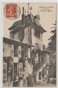 Ak Verneuil sur Vienne Chateau Schloss 1914