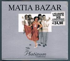 MATIA BAZAR THE PLATINUM COLLECTION BOX 3 CD SIGILLATO!!!