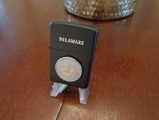 DELAWARE STATE QUARTER ZIPPO LIGHTER LIMITED EDITION MINT IN BOX SET BREAK LOOK