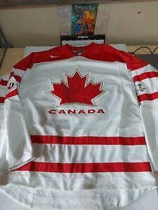 Nike Team Canada Hockey Olympics Jersey Used Mens Small