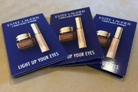 "3* ESTEE LAUDER double wear concealer ""LIGHT UP EYES IN 3-MINUTES"" SAMPLE CARD"
