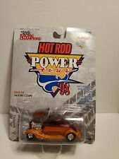 T - 1/54 RACING CHAMPIONS HOT ROD POWER 1934 FORD COUPE ORANGE & RED