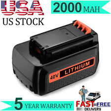 For Black & Decker LBX2040 LBXR36 LHT2436 40V 2.0Ah MAX Lithium-Ion Battery Hot