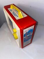 Retro Looking Fisher Price Wind Up TV Music Box Television Tested and Working