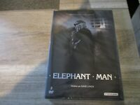 "COLLECTOR 2 DVD NEUF ""ELEPHANT MAN"" John HURT, Anthony HOPKINS / David LYNCH"