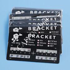 50 KIT Dental Orthodontic Metal Bracket Braces MINI Roth 022 3-4-5 hooks NEW FDA
