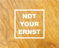 NOT YOUR ERNST Aufkleber Sticker DENGLISCH Nicht Dein Ernst Spruch Spaß FUN OEM