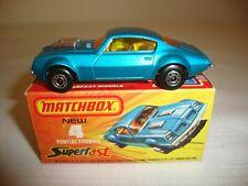 MATCHBOX SUPERFAST 4C PONTIAC FIREBIRD - NR MINT in original J BOX
