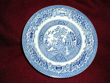 English Ironstone Tableware EIT BLUE WILLOW Saucer/s (loc-sau8)