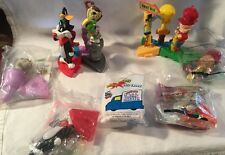 Wendy's LOONEY TUNES Action Pen Lot W/Under 3 Mail Truck 2000(Complete Set)-2001