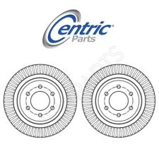 For Ford F-150 2012-2019 Rear Left and Right Disc Brake Rotors Centric 320.65135