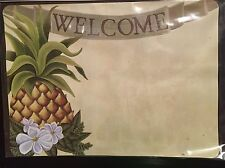 PINEAPPLE WELCOME MAGNETIC ADDRESS MARKER GREAT FOR MAILBOX LAWN METAL BUILDING