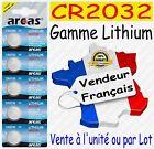 Piles bouton Lithium 3V Arcas Camelion CR2016 CR2025 CR2032 CR2330 CR2430 CR2450