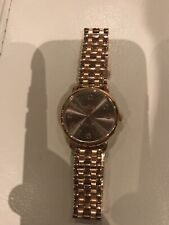 Women's Rose Gold Coach Watch