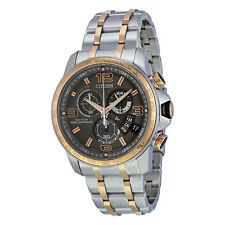Citizen Eco-Drive Men's BY0106-55H Atomic Chronographic Two Tone Watch