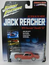 2017 Johnny Lightning *JACK REACHER* RED 1970 Chevelle SS *HOLLYWOOD*