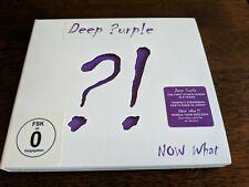 DEEP PURPLE - NOW WHAT? CD & DVD SET (April 29th 2013)
