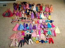 Barbie/Princess Lot; Princesses, Princes, Barbies, Clothing, and a tent