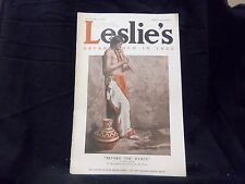 1913 OCTOBER 9 LESLIE'S WEEKLY MAGAZINE - BEFORE THE DANCE - ST 1248