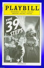 Playbill + The 39 Steps + Opening Night + Charles Edwards, Arnie Burton, Cliff S