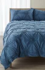 New $49 Nordstrom at Home Chloe King Pillow Sham Blue Moonlight Heather