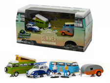 1/64 Greenlight Motor World 6 pcs Diorama Set Volkswagen Summer Festival 58032