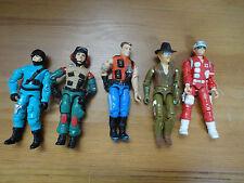 GI Joe Action Figures Mixed Lot 5 Hasbro 3.5 inch Assorted Characters Mixed R