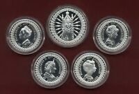 1992 Australian Royal Ladies Silver Proof set