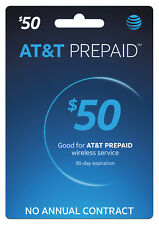 AT&T Prepaid SIM preloaded with $50 plan 8GB DATA (FREE 2 DAYS SHIPPING)