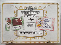 2020 LEAF TRINITY HOBBY FOOTBALL BOX