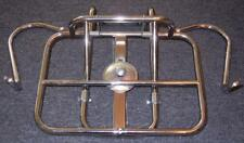 Vintage Vespa Lambretta chrome universal folding rear luggage rack for tire #31