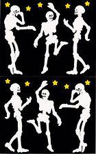 Mrs. Grossman's Giant Stickers - Skeletons - Halloween Bones - 2 Strips