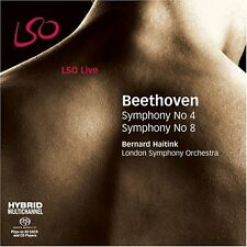 Ludwig van Beethoven - Beethoven  Symphonies Nos 4 and 8 (LSO Haitink) [CD]