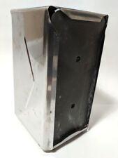 """Dash Metal Napkin Holder Spring Loaded Dispenser Diner Style 1950's Design 7.5"""""""